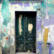 Old Door 4 By Darian Day Poster