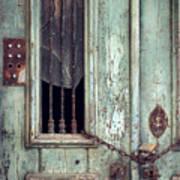 Old Door Detail Poster