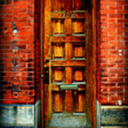 Old Door Poster by Perry Webster