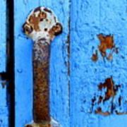 Old Door Photograph Poster