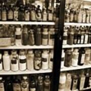 Old Drug Store Goods Poster
