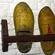 Old Dutch Wooden Shoes Poster