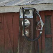 Old Farm Pump Poster