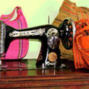 Old Fashion Machine Poster
