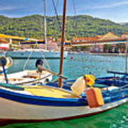 Old Fishermen Harbor Of Stari Grad Poster