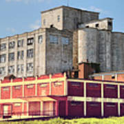 Old Flour Mill Poster