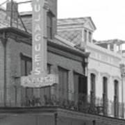 Old French Quarter Restaurant  Poster