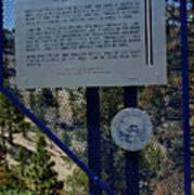 Old Geiger Grade Nevada Poster