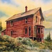 Old House Animas Forks Colorado Poster