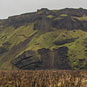Old Icelandic Island Panorama Poster