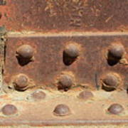 Old Iron Hinges Poster
