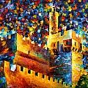 Old Jerusalem Poster by Leonid Afremov