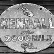 Old Kendal Sign Poster