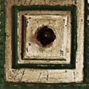 Old Knob Abstract Poster