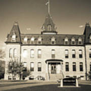 Old Main Sepia Poster