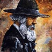Old Man Poster by Emerico Imre Toth