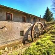 Old Mill - Antico Mulino Poster