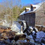 Old Mill On The Tom Tigney River, Nova Scotia Poster