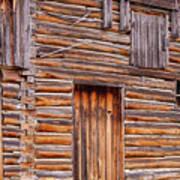 Old Mormon Barn Poster