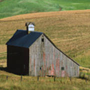 Old Palouse Barn Poster