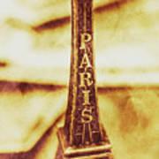 Old Paris Decor Poster
