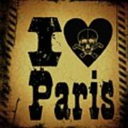 Old Paris Poster