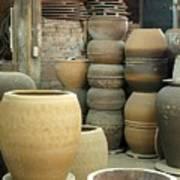 Old Pottery Workshop Poster