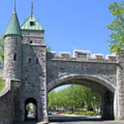Old Quebec City Wall Quebec City 6358 Poster