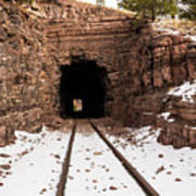 Old Railroad Tunnel Poster