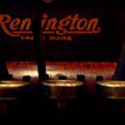 Old Remington Cash Register Poster