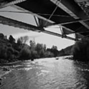 Old Rio Grande Bridge Poster