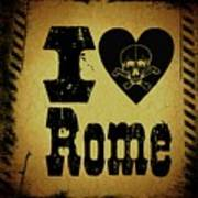 Old Rome Poster