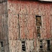 Old Rugged Barn #2 Poster