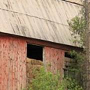 Old Rugged Barn #4 Poster