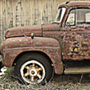 Old Rust Truck Poster
