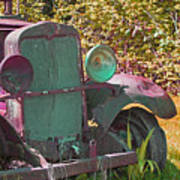 Old Rusty Truck C1002 Poster