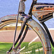 Old Schwinn Poster by Naman Imagery