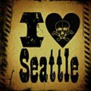 Old Seattle Poster