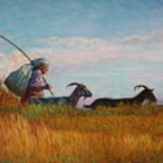 Old Shepherd Poster