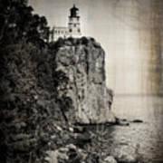 Old Split Rock Lighthouse Poster