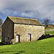 Old Stone Barns Poster