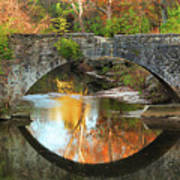 Old Stone Bridge Over Fountain Creek 2 Poster