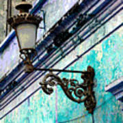 Old Street Lamp By Darian Day Poster