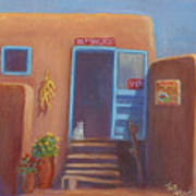 Old Taos Grocery Poster