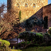 Old Town Walls Toledo Spain Poster by Joan Carroll