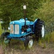Old Tractor 3 Poster