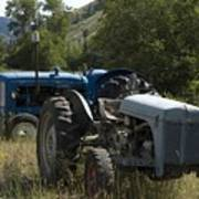 Old Tractor 7 Poster