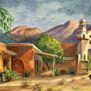 Old Tucson Poster