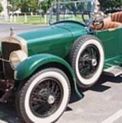 Old  Vintage Car Poster