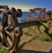 Old Winch Tintagel Poster